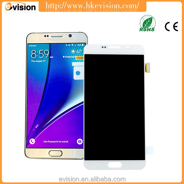 For Samsung Galaxy Note 5 LCD N920 F N920A N920T Screen Digitizer Touch Glass