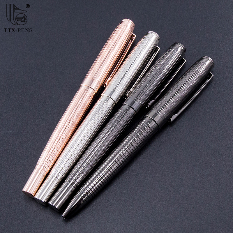 Custom twins gift roller pen and ball pen with gift box for business