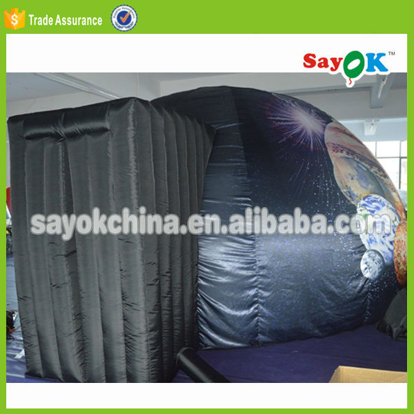 giant inflatable planetarium dome tent price with projection cloth