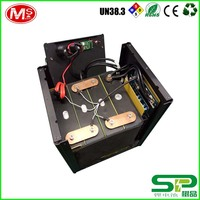 Deep cycle rechargeable battery 12V 120Ah LiFePO4 battery pack for solar energy storage system