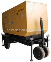 2012 hot sale 30kw trailer genset