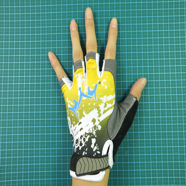 Fashion Racing Cycling Gloves, Custom Bicycle Glove