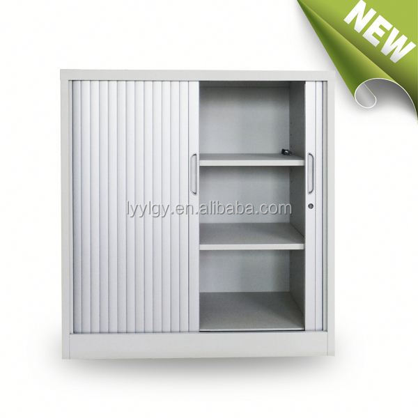 Cambodia furniture, Modern style whole steel tambour door kitchen cabinet