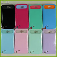 For Samsung galaxy note 2 n7100 light up luminous case cover silicone+pc