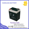 Factory direct sale high quality 6 volt 5.5amp dry rechargeable battery for ups accumulator