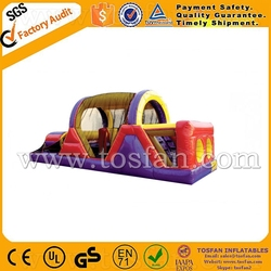 Giant inflatable obstacle for kids inflatable obstacle course A5012