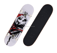 9 Ply China Maple Top Quality Wood Skateboard with Heat Transfer