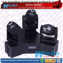 LED zoom moving head stage light/ 3 heads moving head lighting/white led stage lighting
