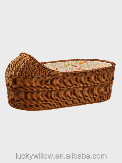 eco-friendly Wicker Baby Bassinet / baby crib/baby cradle