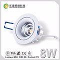 2017 new Norway sharp cob 975-1100lm super thin elko dimmable 2700k 3000k 4000k 5000k led downlight high luminus
