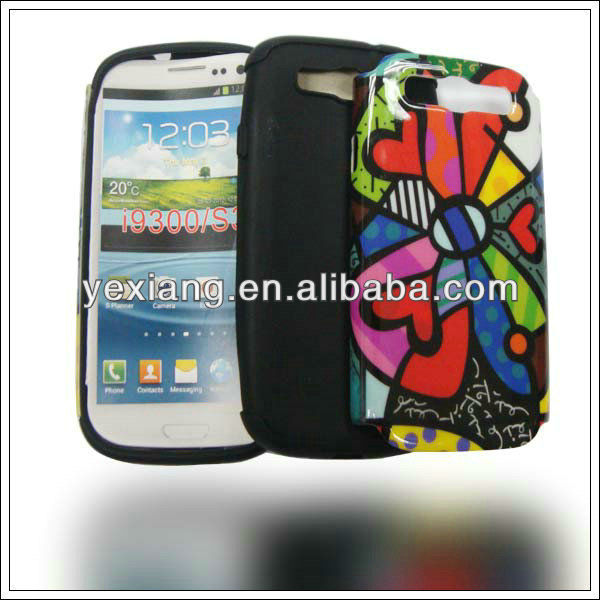 Graffiti plastic skin cover for Samsung galaxy s3