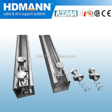 Good quality hot dipped galvanized unistrut channel c shapped channel UL CE tested manufacturer