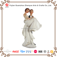 2016 wedding cake topper resin couples figurine