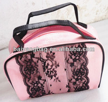Pink Fashion Ladies Elegent Cosmetic Bags
