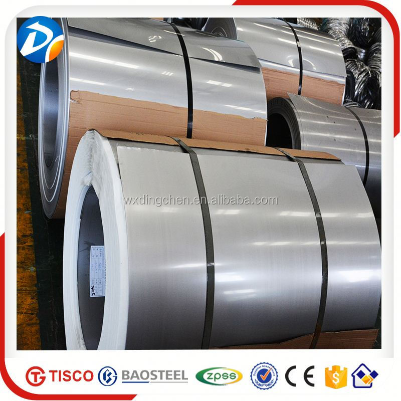 China high quality astm a240m 316l stainless steel coil 0.8x1219x coil 2b CR by baosteel