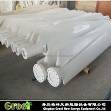 HOT ! FRP 20kw blades for wind turbine manufacturer 300w to 100kw wind power, low noise low start wind speed