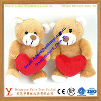 plush teddy bear toy for valentine