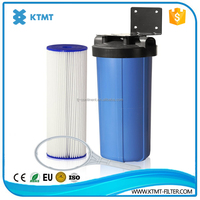 pleated large area polyester media used for swimming pool water filter element