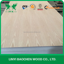 Polar Core Red Oak Veneer Faced Plywood For Furniture