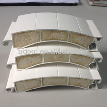 100mm aluminum slat, parts of door roll shutter