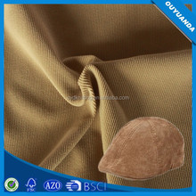 Wholesale Factory Price Corduroy Fabric Used Hats/Gloves/Wallets