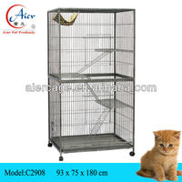 Economic of Factory pet cage Cat Crate Cage Kennel
