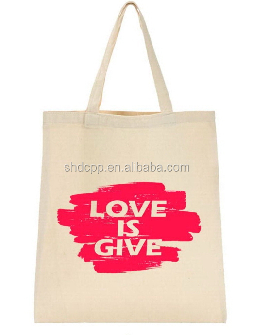 Economic most popular printable canvas bag