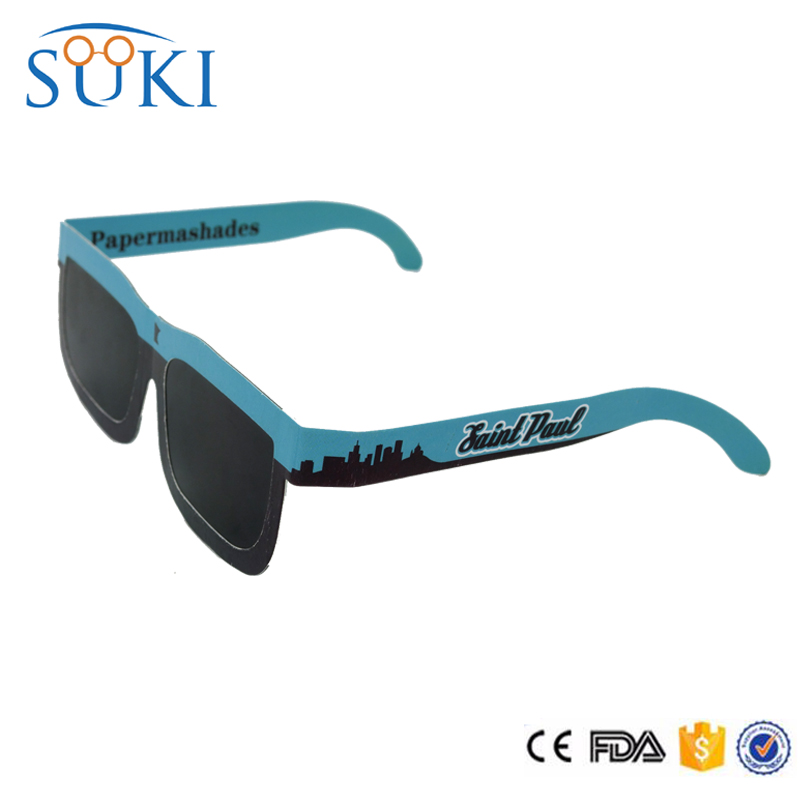 Promotion plastic solar eclipse viewing glasses