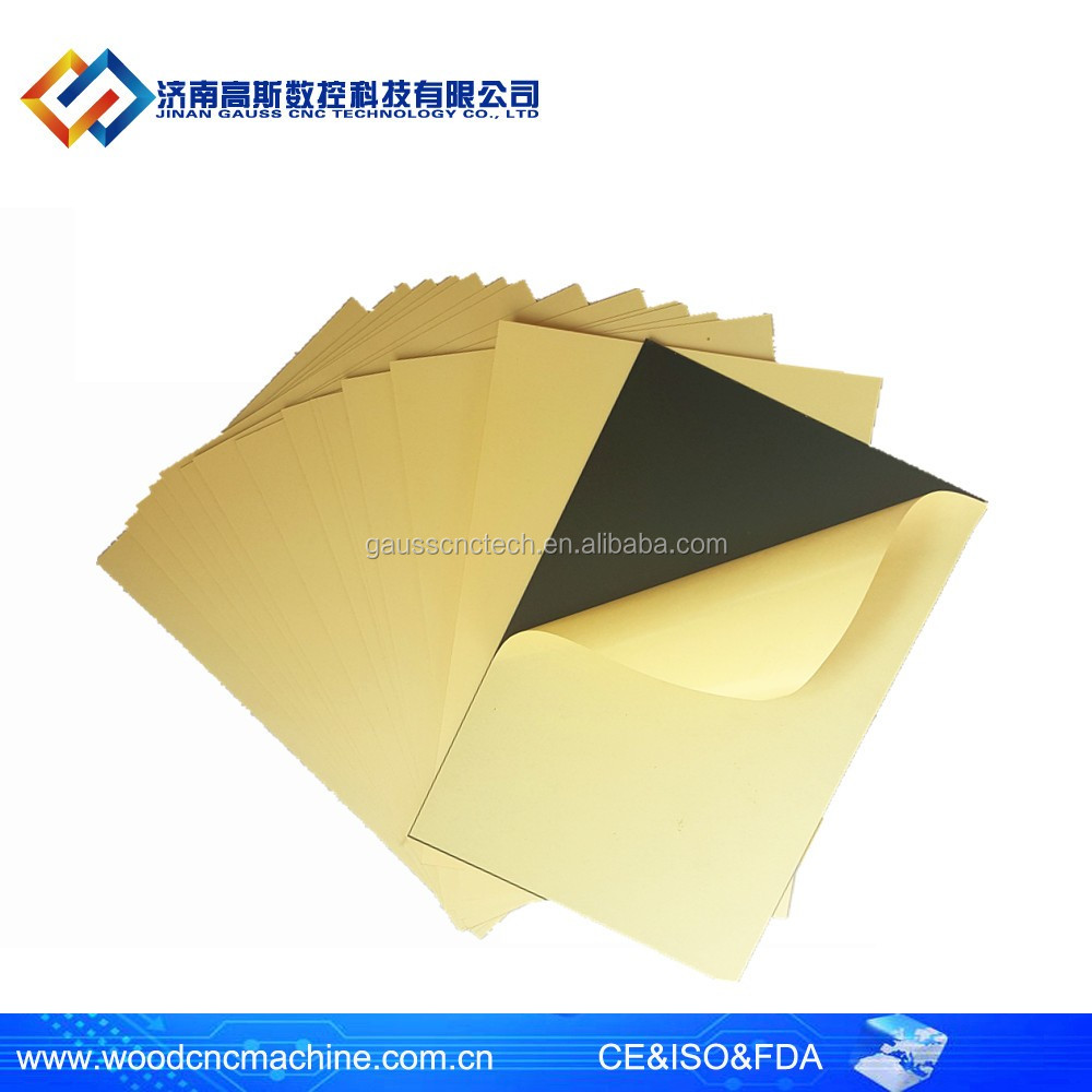 High sticky self adhesive sheet photo book PVC album inner sheets in sales promotion