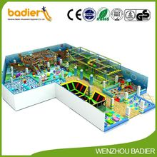Hot sale trendy style kids park models european style kids playground from manufacturer