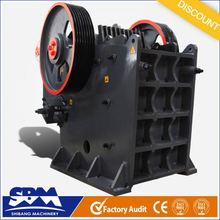 SBM precision casting high quality hot 2012 best jaw plate stone crusher