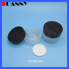 High Quality 30-50-100Ml Cosmetic Empty Glass Packaging Bottle And Jar Manufacturer Cream Jar Lotion Toner Bottle Printing