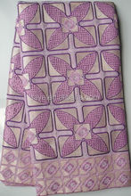 african swiss voile lace fabric 2067 lilac for garment