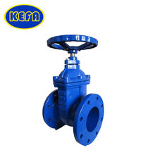 KEFA electric 4 inch resilient seat gate valve