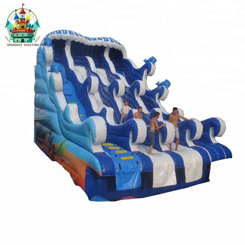 New type large outdoor inflatable water <strong>slide</strong> for adults or kids water park