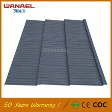 Red Color Sand Stone Coated Metal Roofing Tiles and Accessories for Houses