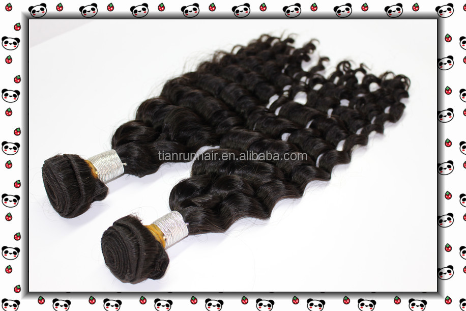 AAAAAA cheap raw unprocessed hair fashion style deep wave top grade 100% virgin brazilian hair