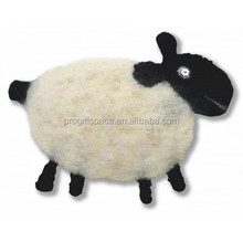 alibaba express hot sale high quality new products wholesale alibaba eco handmade felt wool goat toy made in china