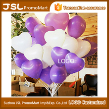Heart-shaped 12 inch custom latex balloon birthday party decorations balloon for party or wedding