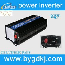 lower price Australia socket 500w pure sine wave power inverters&inversor / solar energy power system good supplier (BY500U)