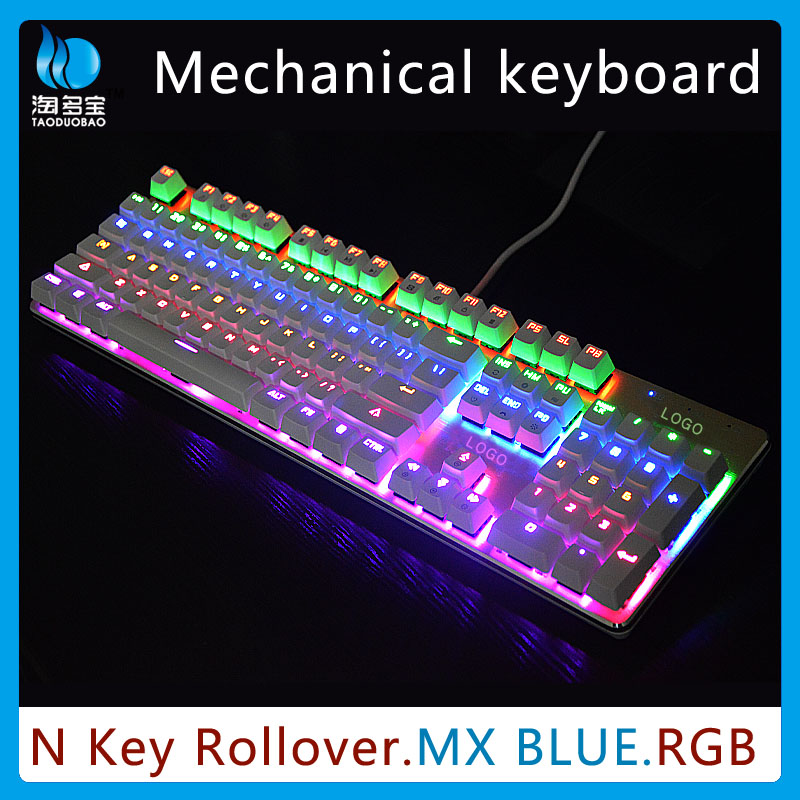 Professional Led OEM Mechanical Gaming Keyboard for gamer