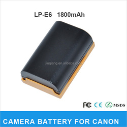high quality LP-E6 battery for Canon 5D Mark II battery