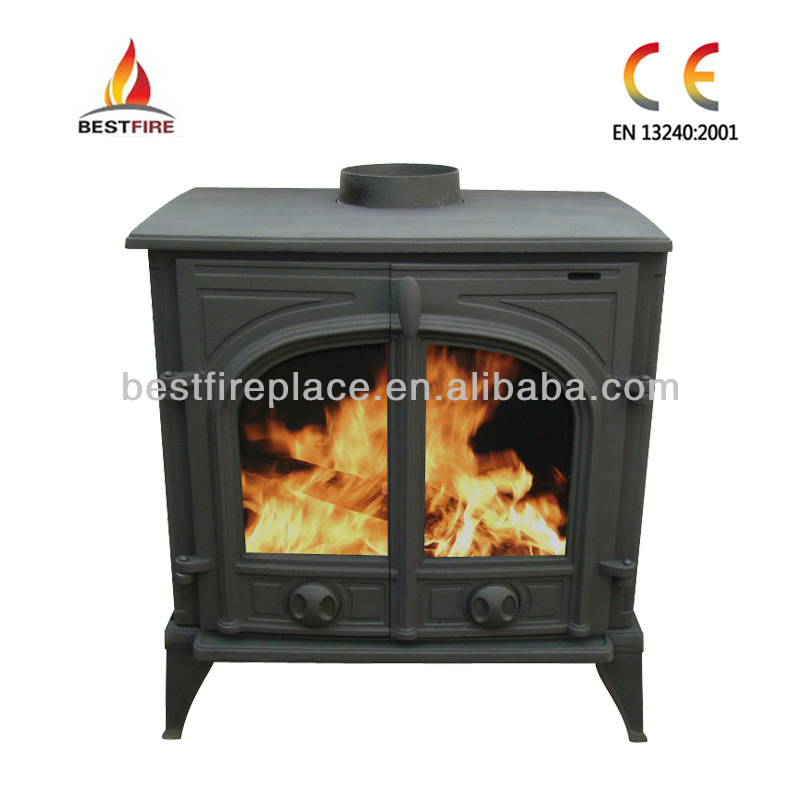 Cast Iron Wood Burning Stove CL-A20-LB