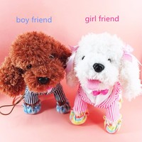 Batteries Operated Plush Talking Puppy Toys