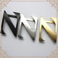 China Factory High End Wholesale Custom Design Best Selling Metal Alphabet Belt Buckle