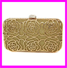 KD6115 factory supply rose flower style women clutch bag
