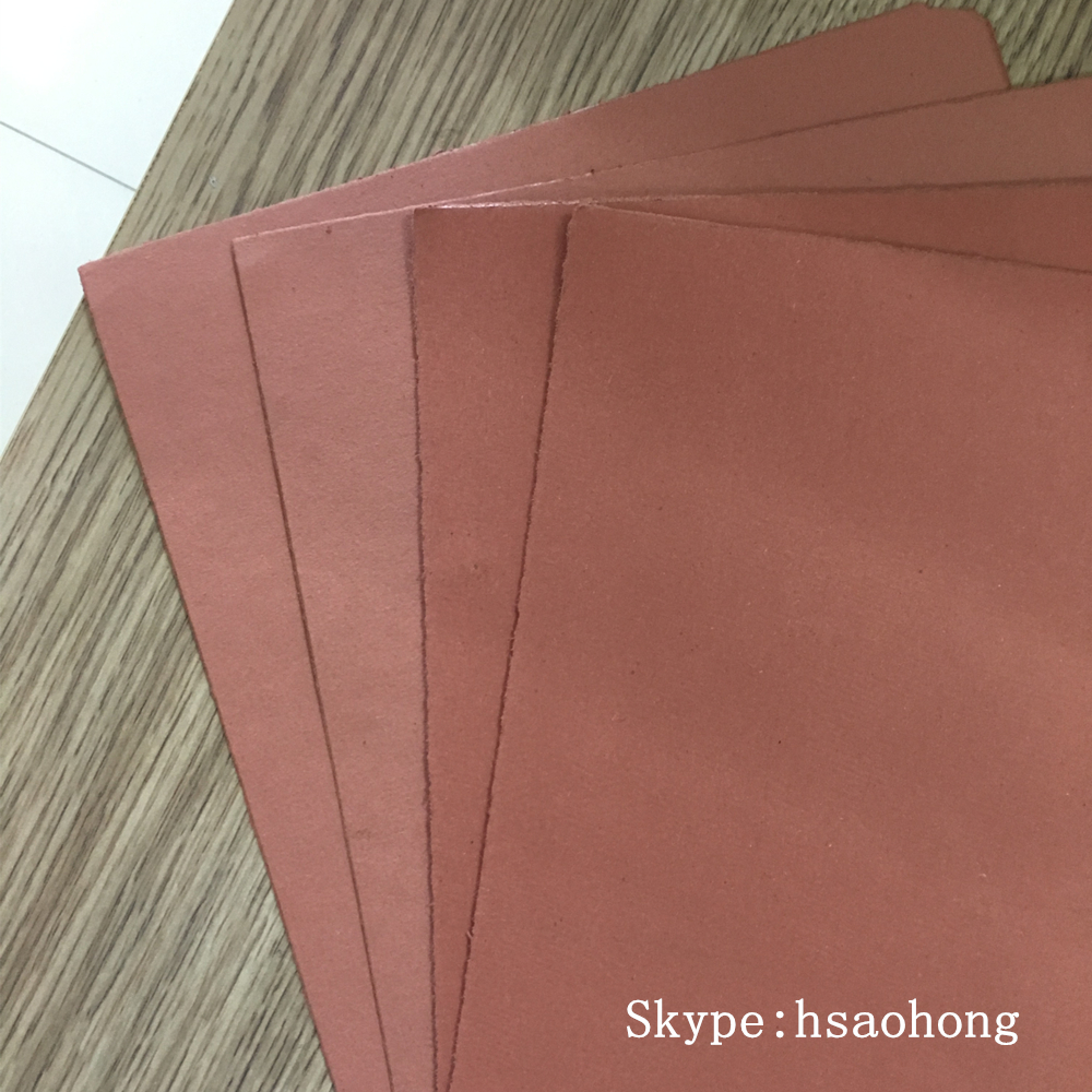 red non asbestos beater paper sheet