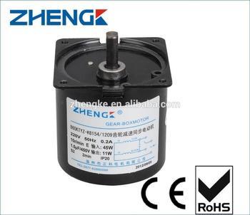 Zhengk high torque electric motors small ac electric for Small ac electric motor