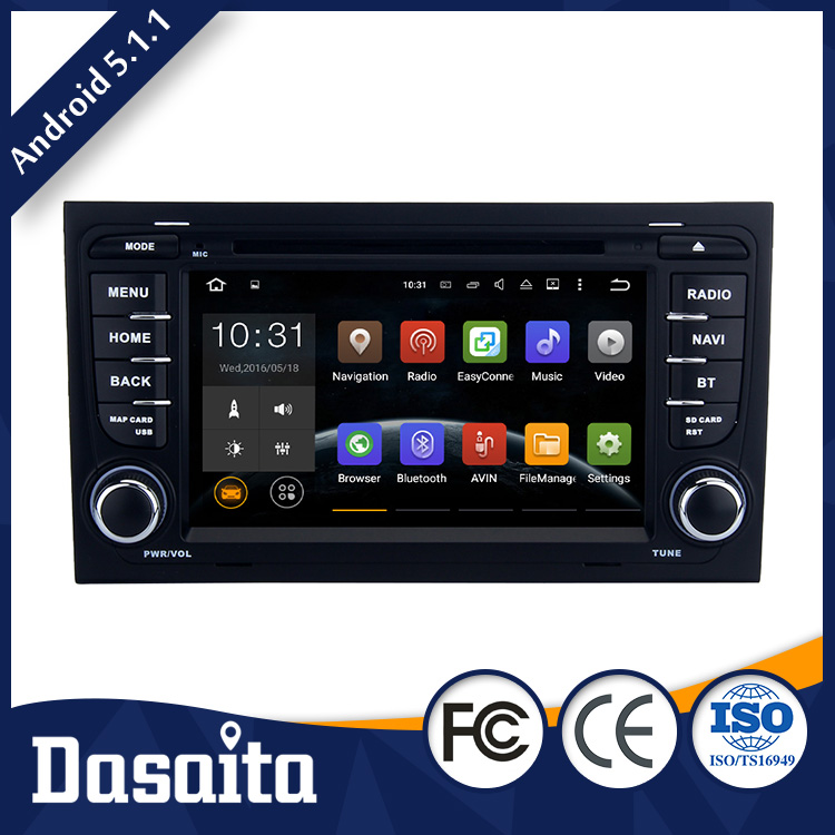 Cheap 7 Inch Car Fast Response gps multimedia navigator dvd price for Audi A4