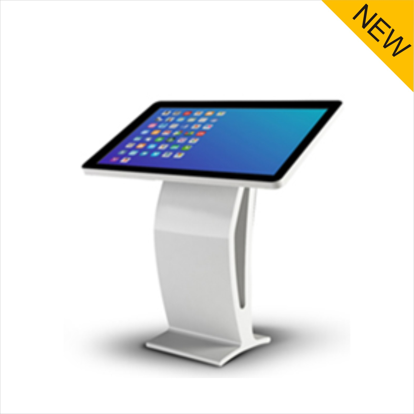 42 inch lcd UHD interactive touch LCD screen advertising kiosk with all in one PC